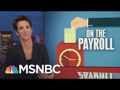 Debunked Hillary Clinton Scandal Figure Paid By Mike Flynn | Rachel Maddow | MSNBC