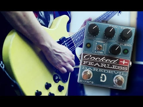 DAREDEVIL PEDALS - Cocked & Fearless Pedal Demo