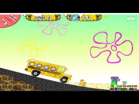 Игра автобус губки боба игры на губка боб на 2016