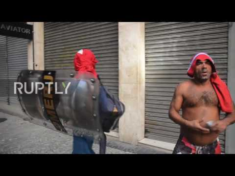 Brazil: Protests against water company privatisation turn violent in Rio de Janeiro