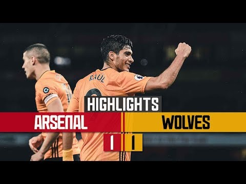Jimenez strikes at the Emirates! | Arsenal 1-1 Wolves | Highlights