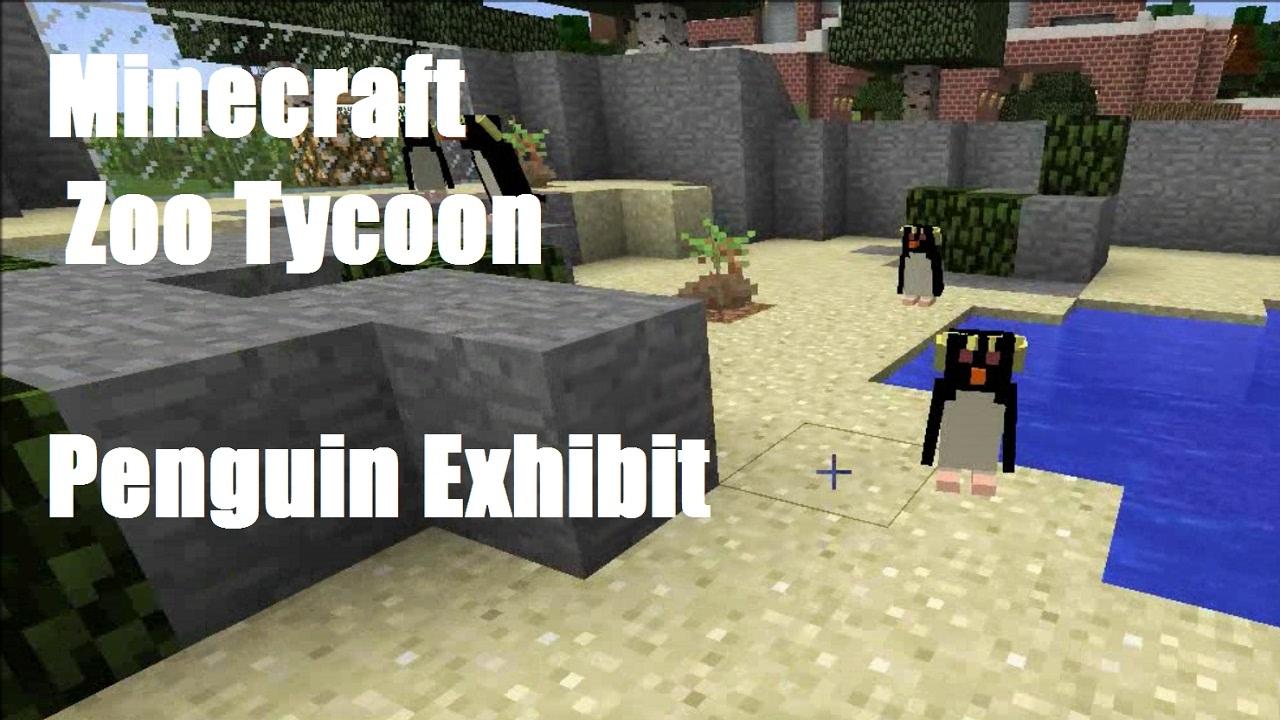 Minecraft Zoo Tycoon - Penguin Exhibit - Episode #11