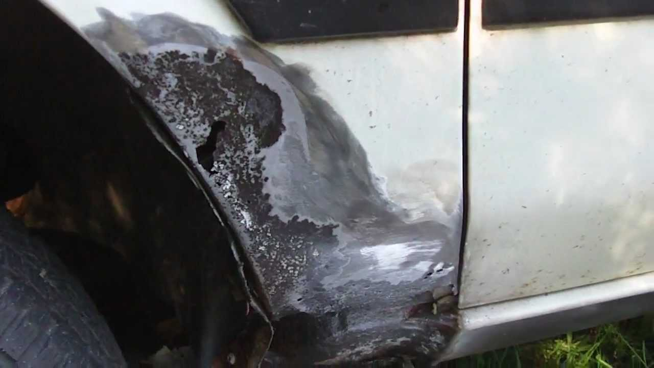 How to repair a rust hole on your vehicle youtube solutioingenieria