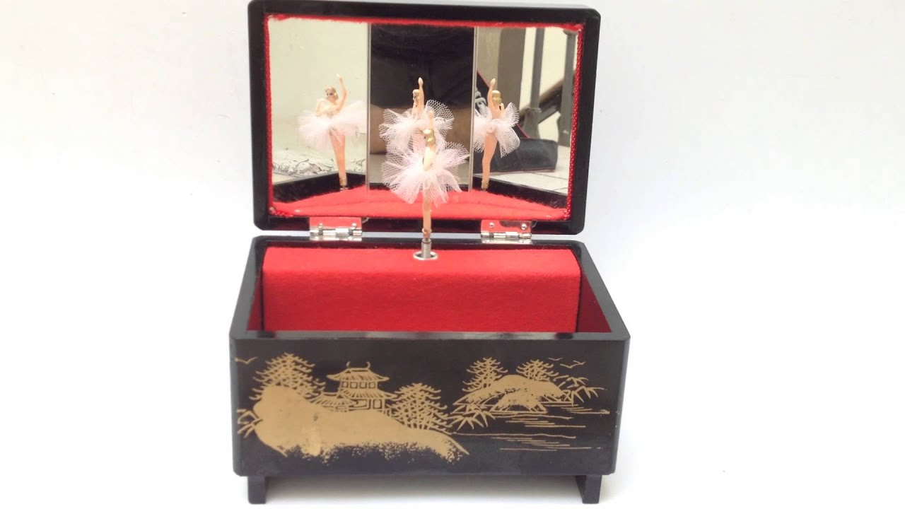 VINTAGE DANCING BALLERINA MUSIC BOX YouTube