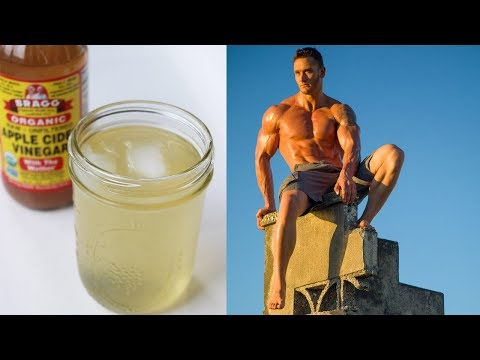 Morning Apple Cider Vinegar Recipe For Improved Digestion, Muscle Growth & Nutrient Absorption