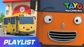 Happy Chris l Tayo Sing Along Special l Strong Heavy Vehicles | Tayo Song & English Episode