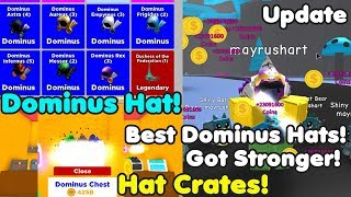 Update! Hat Crates! Got All Dominus Hats! Best Hats! - Magnet Simulator