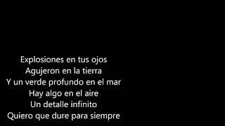 Amor amarillo-Gustavo Cerati (letra)