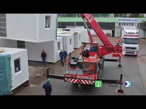 Prefabricated building Systems / Montažni objekti