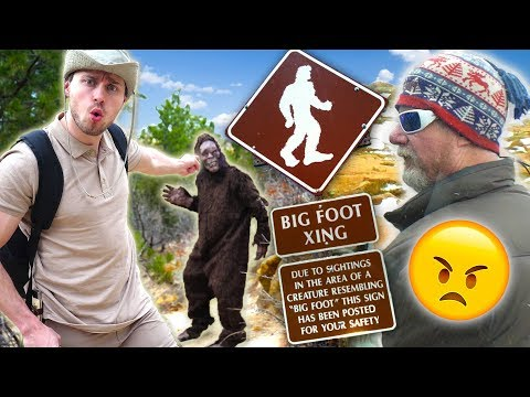 Nature Show Expert Finds BIGFOOT in National Forest! (Park Ranger Wasnt Happy)