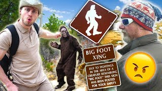 Nature Show Expert Finds BIGFOOT in National Forest! (Park Ranger Wasn't Happy)