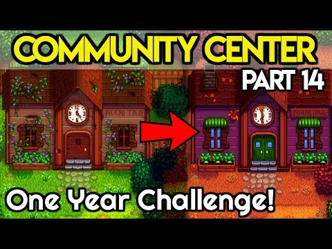 🏆Community Center ONE Year Challenge #14🏆- *GETTING THINGS DONE!?* - Stardew Valley