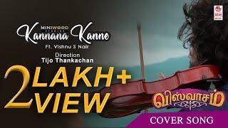 Kannana Kanne Violin Cover | Vishnu S Nair | Rybin K Reji | Redwine Production | Tijo Thankachan
