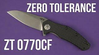 Розпакування Zero Tolerance ZT 0770CF