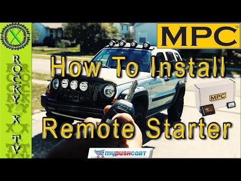 How To Install A Remote Starter System (Jeep Liberty MPC RS0)