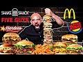تحدي البرجر العملاق ١٠،٠٠٠ سعرة 🍔 Giant Burger Cha