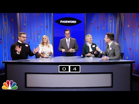 Thumbnail: Password with Ellen DeGeneres, Steve Carell and Reese Witherspoon