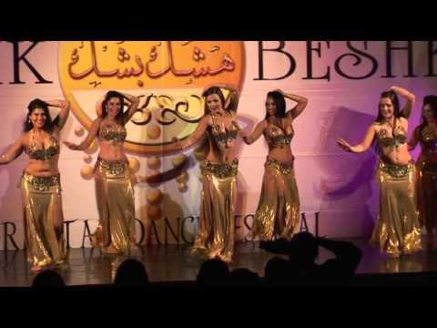 Ambra Bellydance Group Heshk Beshk 2013 (Oriental Festival) Venezia. Italia. (danza ventre Bergamo)
