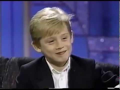 MACAULAY CULKIN  Interview 1991