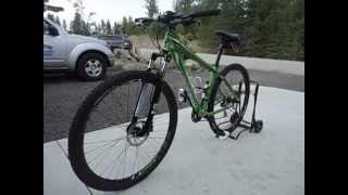 2015 Laser Green Raleigh Tekoa Sport 29er