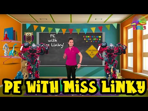 Exercise for Kids | Indoor Workout for Children | No Equipment PE lesson for Kids