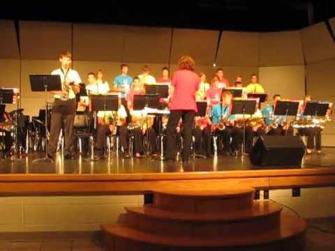 Valders High School Jazz Band: Man In The Mirror 2012