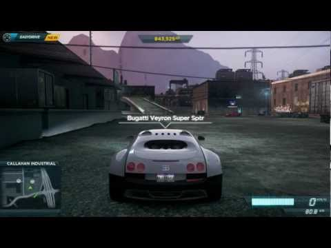 need for speed most wanted 2012 pc bugatti veyron ga doovi. Black Bedroom Furniture Sets. Home Design Ideas