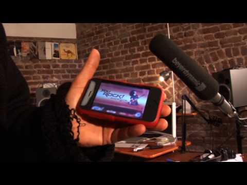 Rockstar Solos Stevie Salas iPhone app jamming Metallica Nirvana iPad IPod Touch Rock guitar
