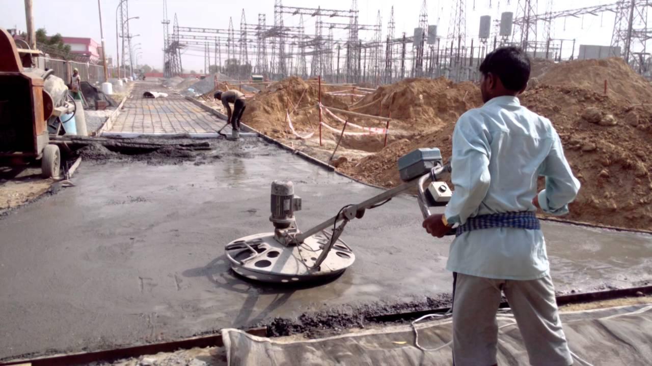 Tri Mix Concrete : Tremix rcc road work youtube