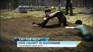 U.S. Children Rescued From Quicksand (03.29.11)