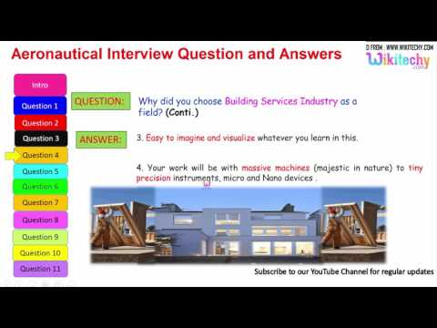 Aeronautical Interview Question and Answers for freshers and