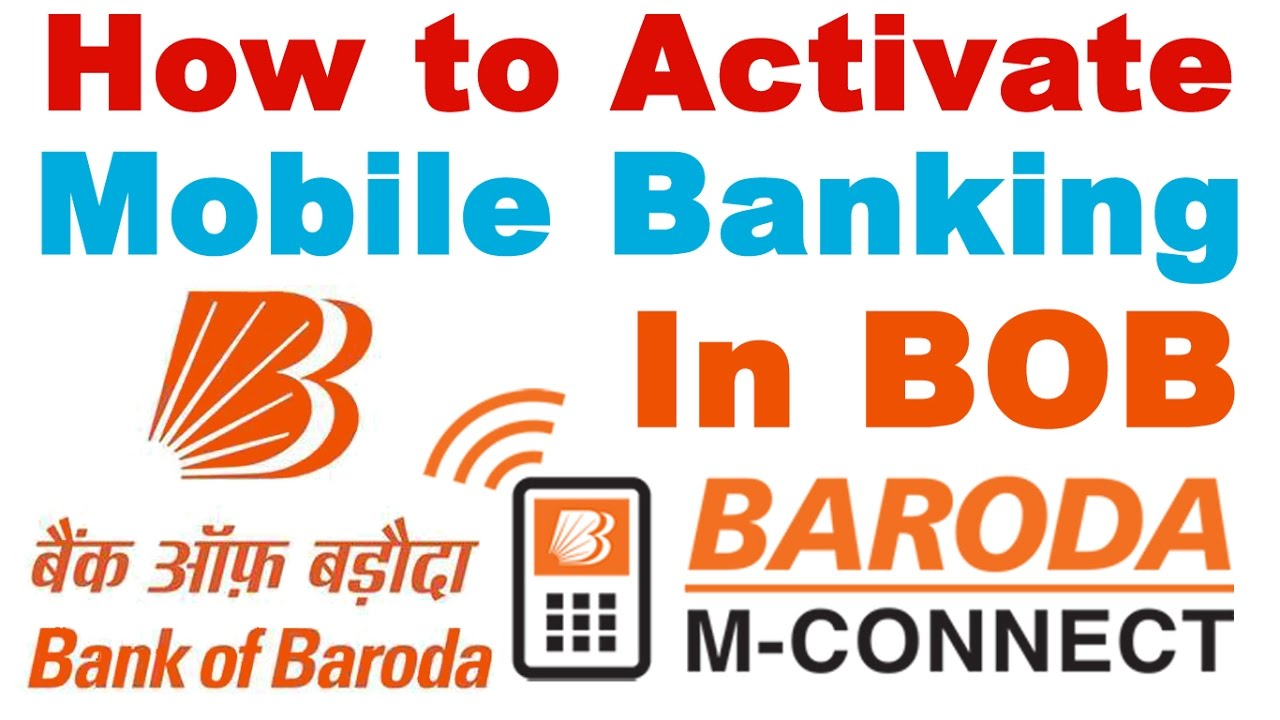 bank of baroda mobile no
