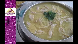 Tavuk Suyu Çorbası Tarifi -Pratik Yemek Tarifleri