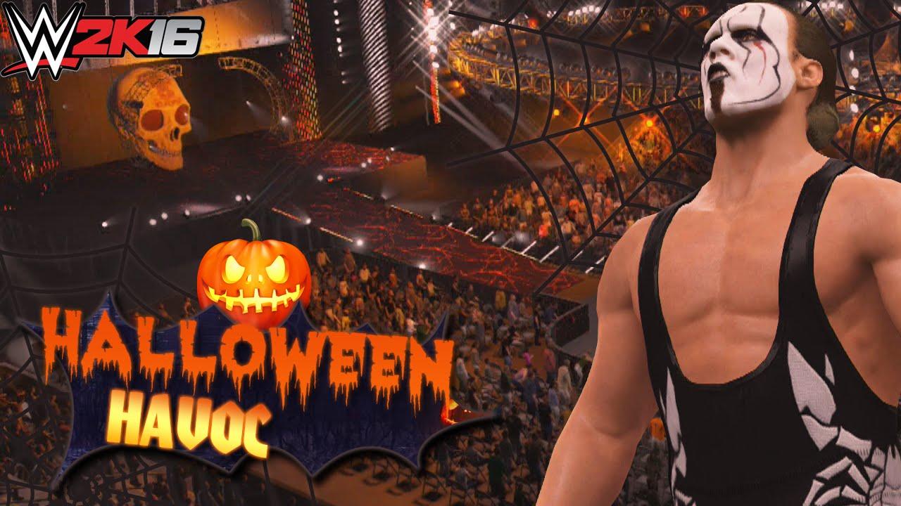 WWE 2K16 - Halloween Havoc PPV returns to WWE (PS4/XBOX ONE) - YouTube