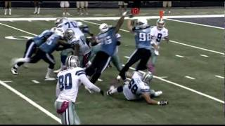 Clip Tennessee Titans @ Dallas Cowboys NFL 2010
