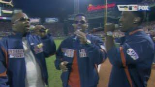 """Boyz II Men perform """"God Bless America"""""""