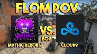 Mythic Reborn vs. Cloud9   Fl0m's POV with comms   WESG 2017 Qualifier Finals (BO3)