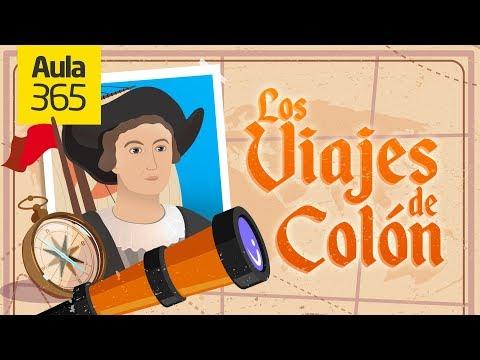 Los Viajes de Cristobal Colón   Videos Educativos para Niños