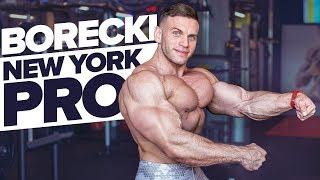 Młody Arnold? | Borecki w formie przed NEW YORK PRO 2019 | 4K