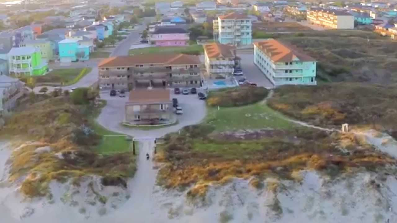 Aerial Video Port Aransas Sunset You