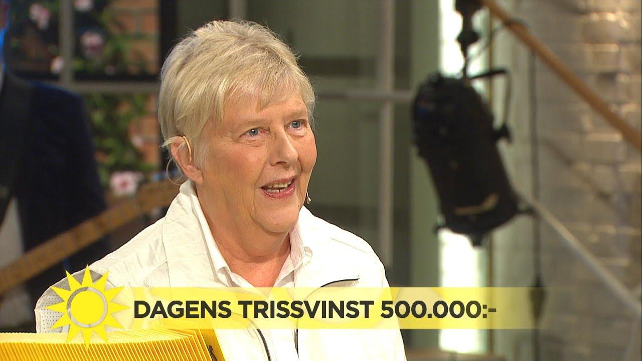 """""""Whi haha"""" – dagens trissvinnare kan inte tro sina ögon  - Nyhetsmorgon (TV4)"""
