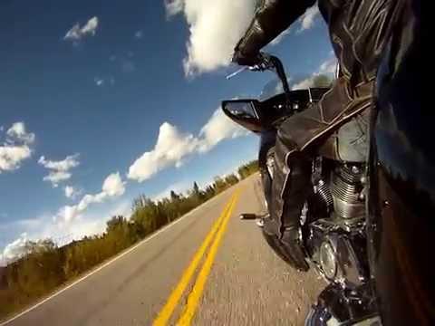 Back roads motorcycle ride near Brad Creek