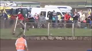 Racing bike accident: