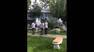 Выход жениха и невесты, Хабаровск, Дом Свадьбы