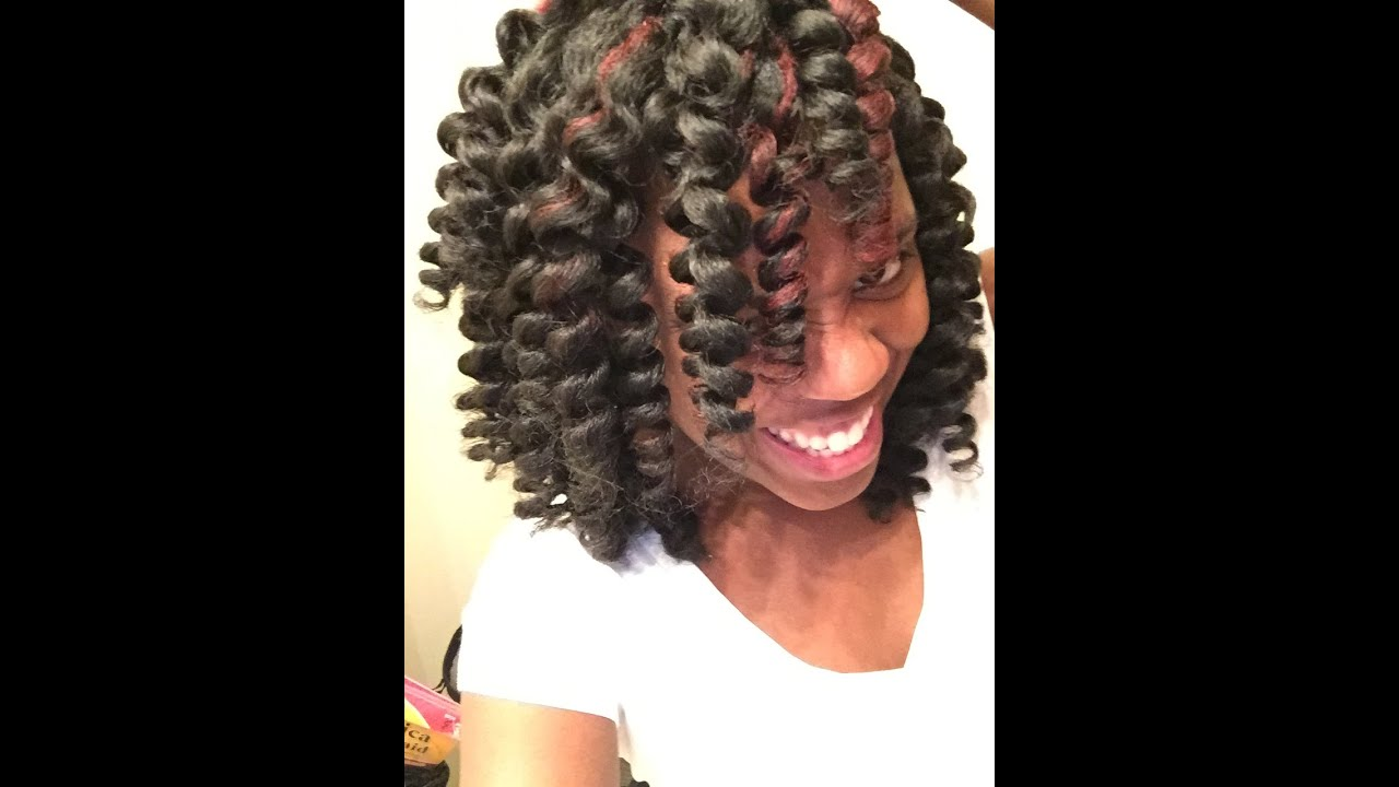 Crochet Hair How To Curl : How to Maintain & Re-Curl Crochet Braids! - YouTube
