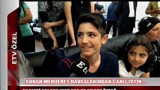 Ak Parti Manisa Milletvekili Selçuk Özdağ  20 Mayıs 2016 Havalanı
