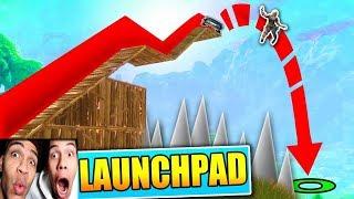 HEFTIGER LAUNCHPAD FAIL! | Fortnite Battle Royale | PrankBrosGames