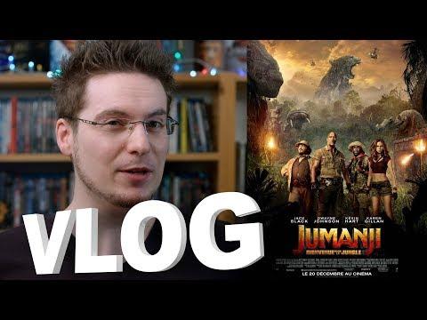 Vlog - Jumanji - Bienvenue dans la Jungle