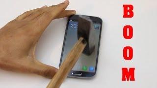 Galaxy S4 PANZERGLASS Test