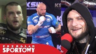 POPEK i STRACHU - przed i po walce na KSW 41 2017 Video